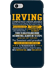 Irving - Completely Unexplainable Phone Case thumbnail