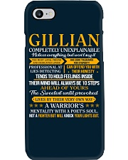 GILLIAN - COMPLETELY UNEXPLAINABLE Phone Case thumbnail