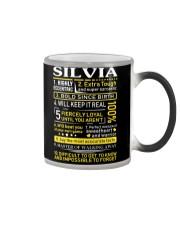 Silvia - Sweet Heart And Warrior Color Changing Mug thumbnail