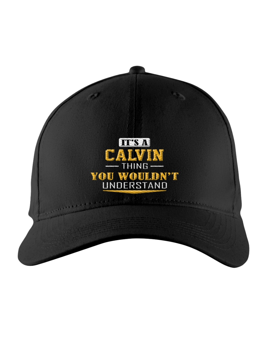 CALVIN - THING YOU WOULDNT UNDERSTAND Embroidered Hat