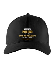 MORENO - Thing You Wouldn't Understand Embroidered Hat front