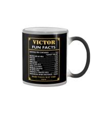 Victor fun facts Color Changing Mug thumbnail