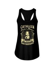 PRINCESS AND WARRIOR - CATHLEEN Ladies Flowy Tank thumbnail