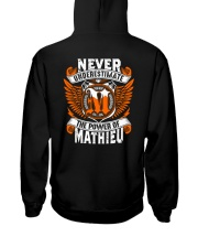 NEVER UNDERESTIMATE THE POWER OF MATHIEU Hooded Sweatshirt thumbnail