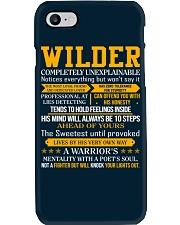 Wilder - Completely Unexplainable Phone Case thumbnail