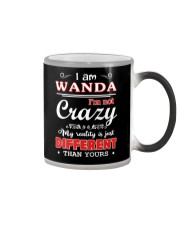 Wanda - My reality is just different than yours Color Changing Mug thumbnail