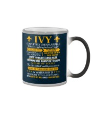IVY - COMPLETELY UNEXPLAINABLE Color Changing Mug thumbnail