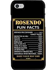Rosendo fun facts Phone Case thumbnail