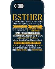 ESTHER - COMPLETELY UNEXPLAINABLE Phone Case thumbnail