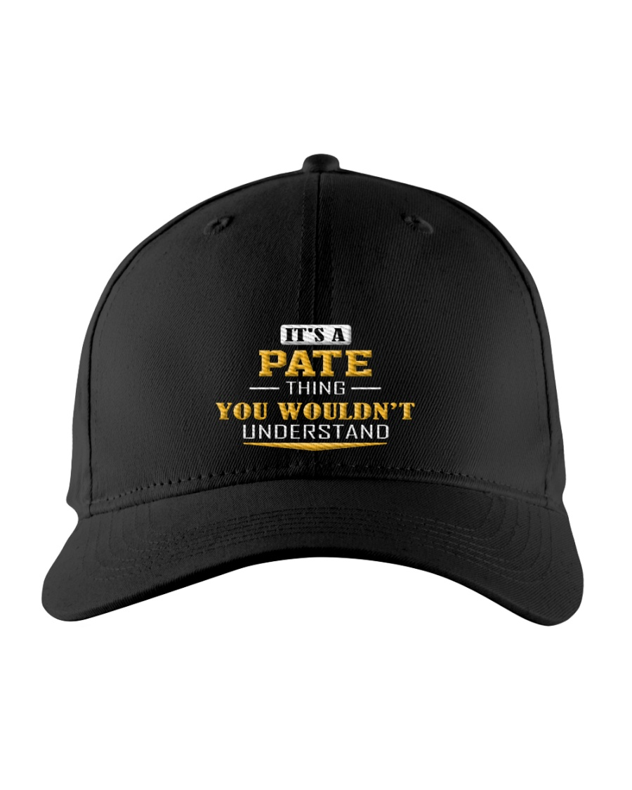 PATE - Thing You Wouldnt Understand Embroidered Hat