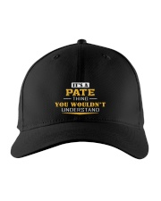 PATE - Thing You Wouldnt Understand Embroidered Hat tile