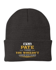 PATE - Thing You Wouldnt Understand Knit Beanie tile