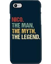 THE LEGEND - Nico Phone Case thumbnail