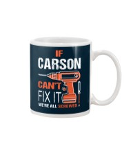 If Carson Cant Fix It - We Are All Screwed Mug thumbnail