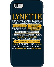 LYNETTE - COMPLETELY UNEXPLAINABLE Phone Case thumbnail