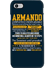 Armando - Completely Unexplainable Phone Case thumbnail