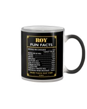 Roy fun facts Color Changing Mug thumbnail