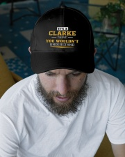 CLARKE - Thing You Wouldnt Understand Embroidered Hat garment-embroidery-hat-lifestyle-06