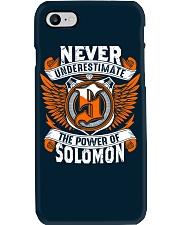 NEVER UNDERESTIMATE THE POWER OF SOLOMON Phone Case thumbnail