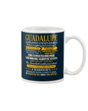 GUADALUPE - COMPLETELY UNEXPLAINABLE Mug tile