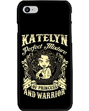 PRINCESS AND WARRIOR - katelyn Phone Case tile