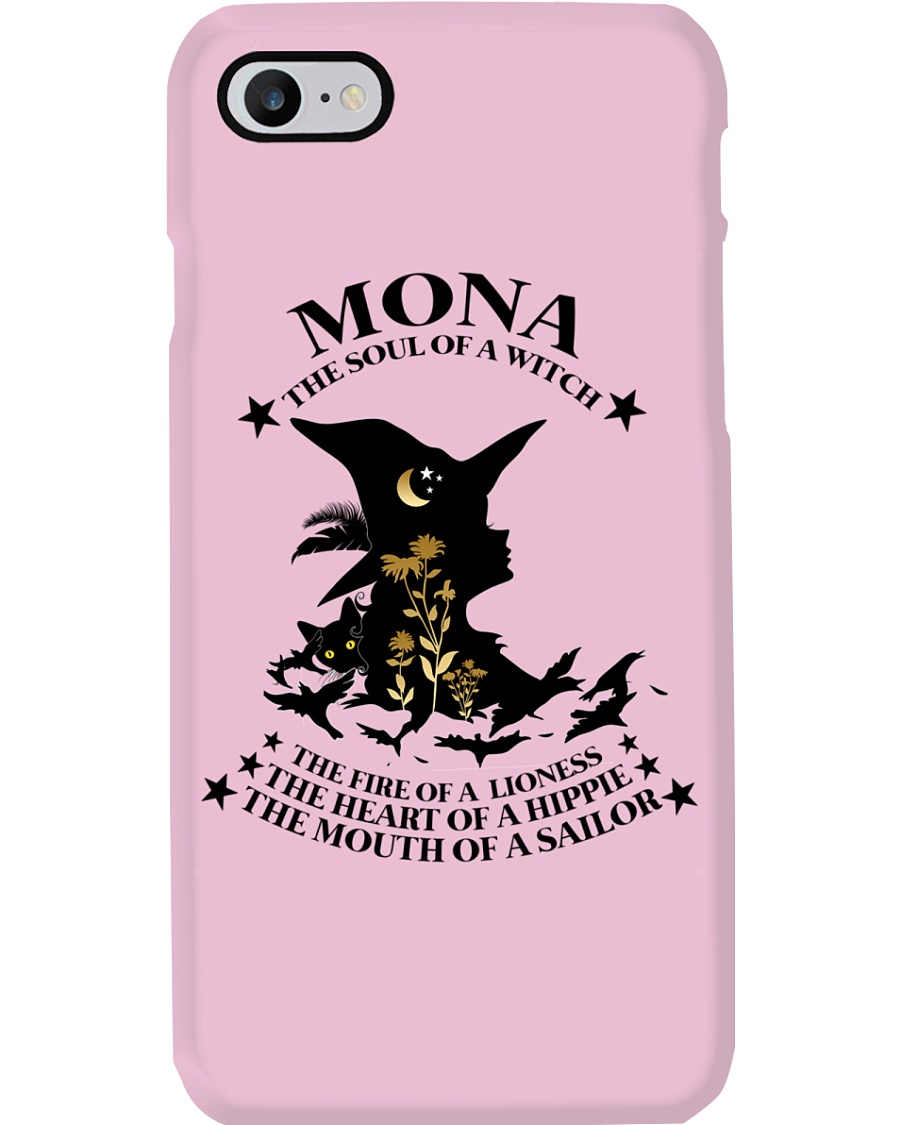 Mona The soul of a Witch BR Phone Case