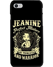PRINCESS AND WARRIOR - JEANINE Phone Case thumbnail