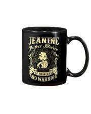 PRINCESS AND WARRIOR - JEANINE Mug thumbnail