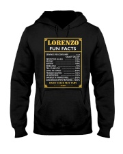 Lorenzo fun facts Hooded Sweatshirt thumbnail