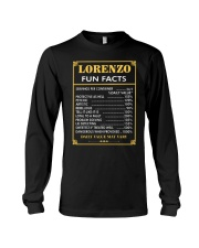 Lorenzo fun facts Long Sleeve Tee thumbnail