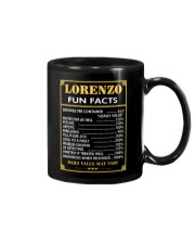 Lorenzo fun facts Mug thumbnail
