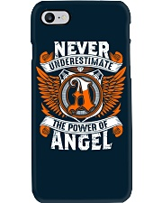 NEVER UNDERESTIMATE THE POWER OF ANGEL Phone Case thumbnail