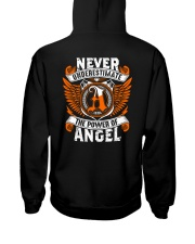 NEVER UNDERESTIMATE THE POWER OF ANGEL Hooded Sweatshirt thumbnail