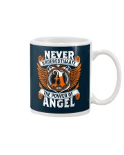 NEVER UNDERESTIMATE THE POWER OF ANGEL Mug thumbnail