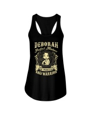 PRINCESS AND WARRIOR - DEBORAH Ladies Flowy Tank thumbnail