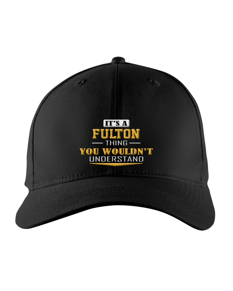 FULTON - Thing You Wouldnt Understand Embroidered Hat