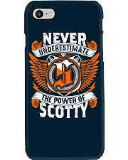 NEVER UNDERESTIMATE THE POWER OF SCOTTY Phone Case thumbnail