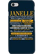 JANELLE - COMPLETELY UNEXPLAINABLE Phone Case thumbnail