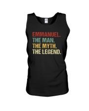 THE LEGEND - Emmanuel Unisex Tank thumbnail