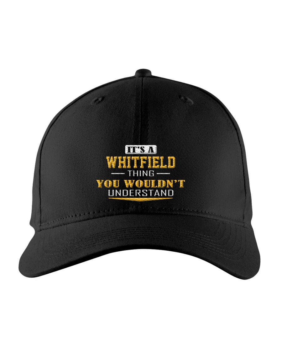 WHITFIELD - Thing You Wouldnt Understand Embroidered Hat