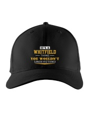 WHITFIELD - Thing You Wouldnt Understand Embroidered Hat front