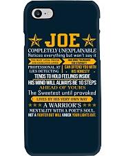 Joe - Completely Unexplainable Phone Case thumbnail