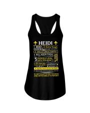 Heidi - Sweet Heart And Warrior Ladies Flowy Tank thumbnail