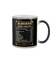 Alberto fun facts Color Changing Mug thumbnail