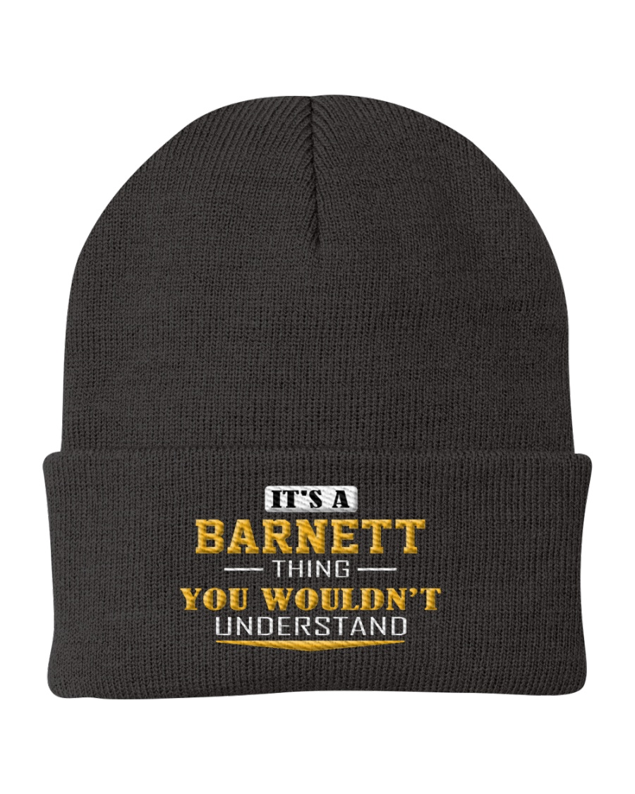 BARNETT - Thing You Wouldnt Understand Knit Beanie