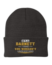 BARNETT - Thing You Wouldnt Understand Knit Beanie front