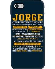 Jorge - Completely Unexplainable Phone Case thumbnail