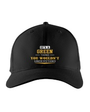 GREEN - Thing You Wouldnt Understand Embroidered Hat front