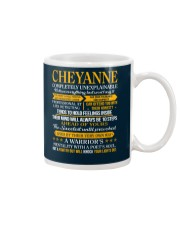 CHEYANNE - COMPLETELY UNEXPLAINABLE Mug tile