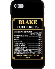 Blake fun facts Phone Case thumbnail